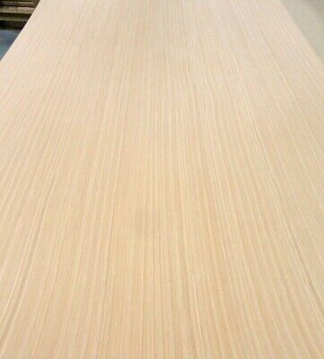 "Teak Quarter Cut wood veneer 48/"" x 96/"" with paper backer 1//40/"" thickness A grade"