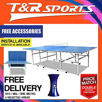 13mm Single Folded Table Tennis Ping Pong Table Standard Size Free Metro Deliver