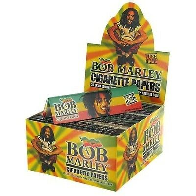 Bob Marley Pure Hemp King Size Rolling Papers {6 Booklets}