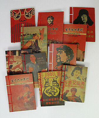 Chinese Communist Poster Artwork Note Pad. Chairman Mao Note Book. Propaganda