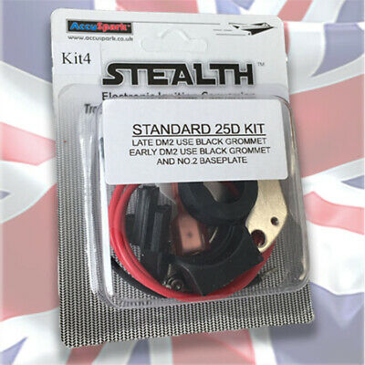 Stealth Electronic ignition conversion kit for All Lucas 25D 4cyl Distributors