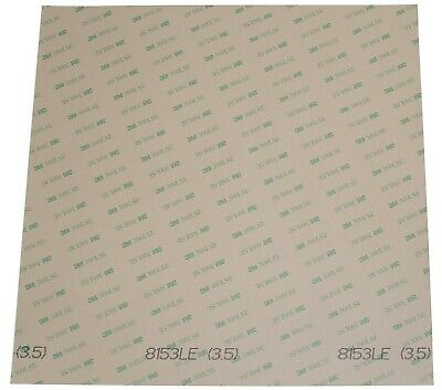 "3M 8153LE 300LSE super-strong double-sided adhesive sheets 12"" x 12"""