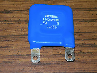 SIEMENS (MOV) Metal Oxide Varistor LS40K250QP [for use on 250V AC, 320VDC]