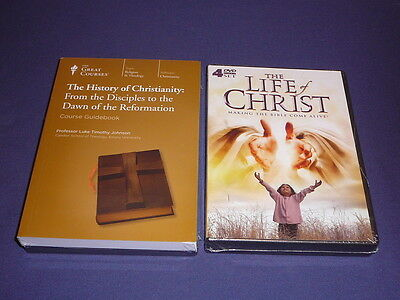 Teaching Co Great Courses DVDs   HISTORY of CHRISTIANITY from  DISCIPLES + bonus