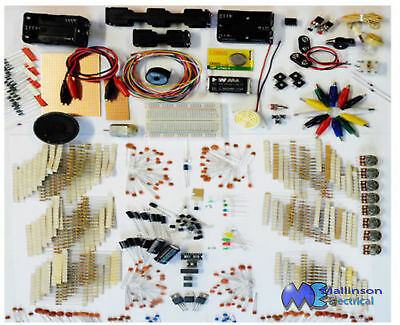 Electronics Project Developement Kit Pack Over 1100 New Components