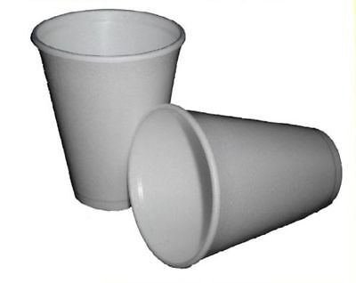 Polystyrene 7oz Insulated Foam Cups Dart Takeaway / Coffee / Catering Select Qty