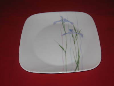 """Corelle Square Shadow iris  Luncheon Plate Four New 9"""""""