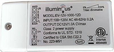 UL approved EverSale 24V 26W Dimmable CV DC LED Driver ETL