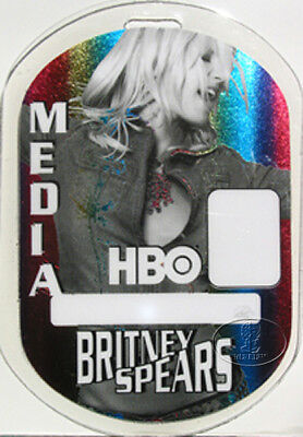 BRITNEY SPEARS 2001-02 LAMINATED BACKSTAGE PASS Media