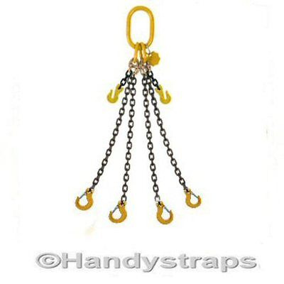 7mm , 10mm , 13mm Lifting Chain Sling  1 ,2 ,4 Leg  with or without Shortner