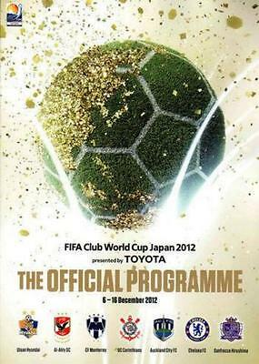 * 2012 Fifa Club World Cup - Official Tournament Programme (Chelsea) *