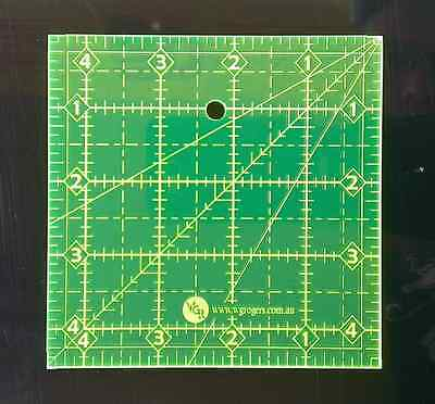"""4.5"""" Square Quilting Ruler 4-1/2"""" X 4-1/2"""" Sewing Template"""