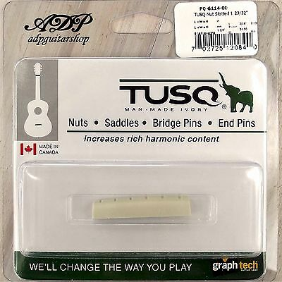 Sillet Graph Tech  Tusq  PQ-6114-00 Acoustic Ibanez  Slotted nut 43.3x 4.95mm
