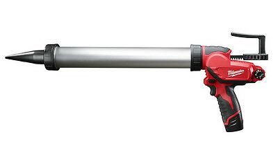 Milwaukee 2442-21 M12 20oz Aluminum Barrel Sausage Style Caulk Gun Kit