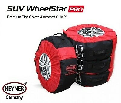 Premium large wheel tyre storage bags 14''-20'' 285mm set of 4 spare covers