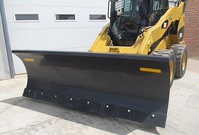 "Paladin FFC 72"" Skid Steer Loader Hydraulic Angle Snow Blade Attachment"