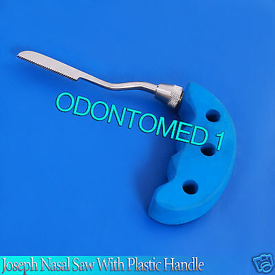 Joseph Nasal Saw With Plastic Handle Surgical Orthopedic Instruments