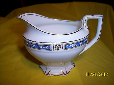 """W H Grindley CHINA """"THE VICTORY"""" PATTERN # 669687 CREAMER"""