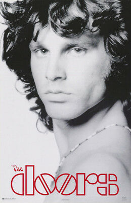 Poster:music: Jim Morrison -Doors - Facing Left - Free Shipping !  #7518 Rc11 F
