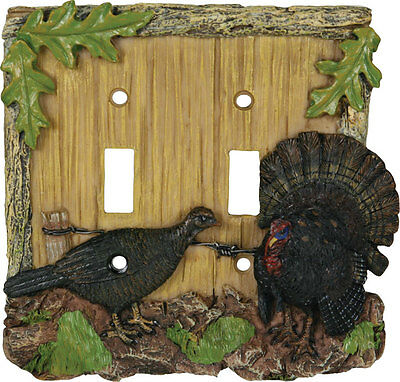 Turkey Double Switch Plate Cover