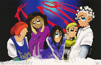 POSTER :MUSIC: KORN -  CARICATURES by BOGACKI - FREE SHIPPING ! #6173  LP38 Q