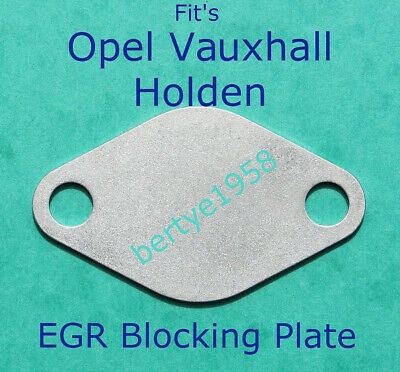 Opel Vauxhall Astra Signum Vectra Zafira 1.9 CDTI DTH EGR Blanking Plate EBP04