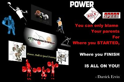 Strength AND Speed WORKOUT ...All Sports, the BEST Power, Bulk & Speed TRAINING