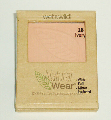 Wet n Wild Natural Wear Pressed Powder in Ivory New & Sealed