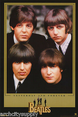 Poster : Music: Beatles -Yesterday & Forever - Free Shipping ! #1312 Rc4 G