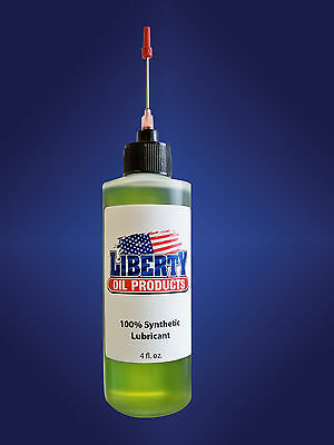 4 Ounce Bottle of 100% Synthetic Oil for lubricating all clocks