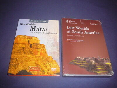 Teaching Co Great Courses  DVDs      LOST WORLDS SOUTH AMERICA       new + BONUS