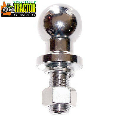 Tow Ball 3/4 thread 50mm Ball for Tractors and Quad Bikes