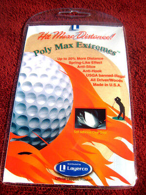 """""""Poly Max Extremes"""" for extra golf driver distance! All Taylormade Drivers."""