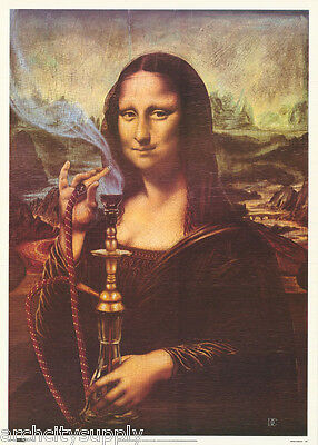 POSTER #VEP042   LW11 L MONA LISA COLLAGE ART FREE SHIPPING