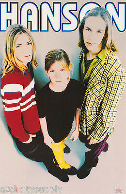 POSTER : MUSIC : HANSON - WHERE'S THE LOVE - FREE SHIPPING !   #002     RW18 i