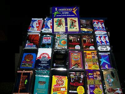1000 Basketball Cards In Factory Sealed Packs 1990's