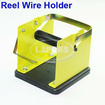 Soldering Solder Wire Tin Lead Reel Dispenser Stand Holder Roller Spool Feeder
