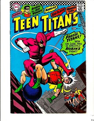 Teen Titans 5: (1966): FREE to combine- in Very Good/Fine  condition