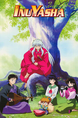 POSTER : ANIME MANGA:  InuYasha - BY TREE   -  FREE SHIPPING !  #3402 RC31 K