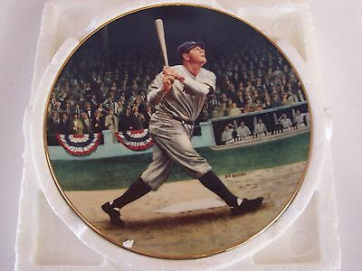 1992 Delphi Babe Ruth The Called Shot New York Yankees Collectors Plate