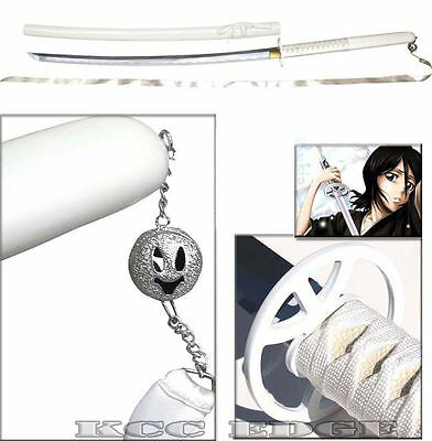 "43"" Japanese Anime BLEACH RUKIA SODE NO SHIRAYUKI ZANPAKUTO STEEL COSPLAY SWORD"