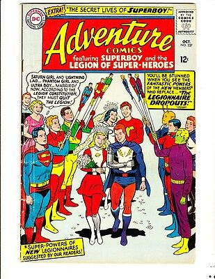 Adventure 337: (1965): FREE to combine- in Good/Very Good condition