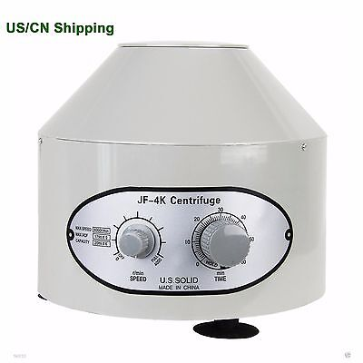 Electric Lab Centrifuge laboratory Medical Practice 4000rpm 1790g 20 ml x 6