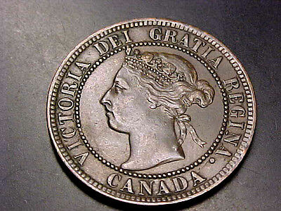 Gorgeous Rare 1894 Canada Large Cent Coin Unc Buy Now Or Offer