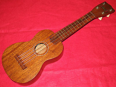 Rare Vintage 1940's Hollywood Fife & Nichols Music Co. Soprano Ukulele Clean Uke