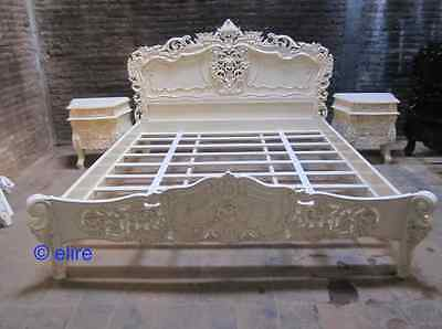 TOP QUALITY Made to Order French style any size any colour mahogany Rococo Bed