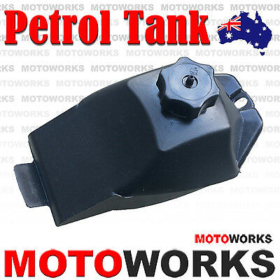 Gas Fuel Petrol Tank + Cap 47cc 49CC ATV QUAD Bike Gokart Buggy Dirt Mini Pocket