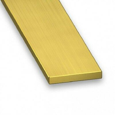 Brass Bar Brass Strip 100mm to 1000mm, various widths and depths available