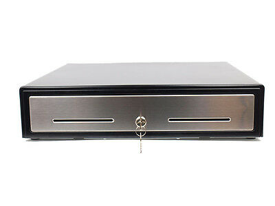 "18"" POS Cash Drawer works Compatible with Epson Star Citizen Restaurant Draw Box"
