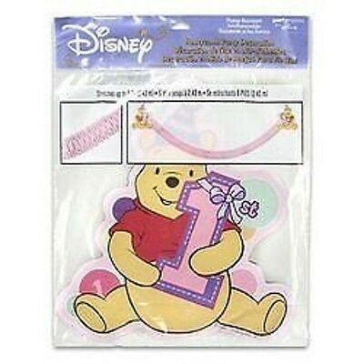 Disney Winnie the Pooh 1st Birthday Party Pink  Honeycomb Party Decoration